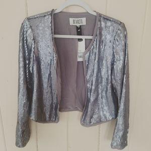 NWT BB Dakota Sequin Jacket, Medium